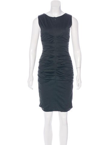 Dolce & Gabbana Wool Sheath Dress None