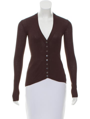 Dolce & Gabbana Button-Up Knit Cardigan None