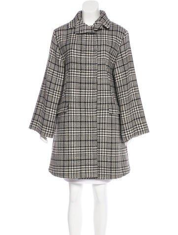 Dolce & Gabbana Virgin Wool Knee-Length Coat None