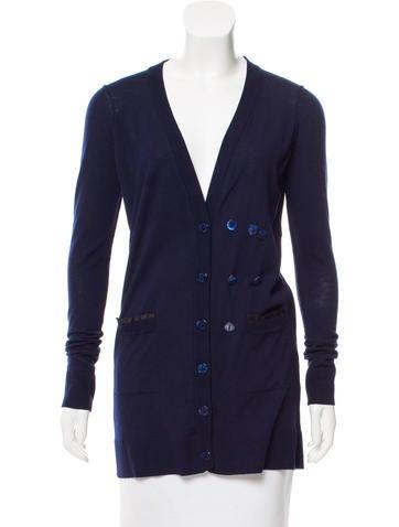 Dolce & Gabbana Wool & Silk Cardigan None
