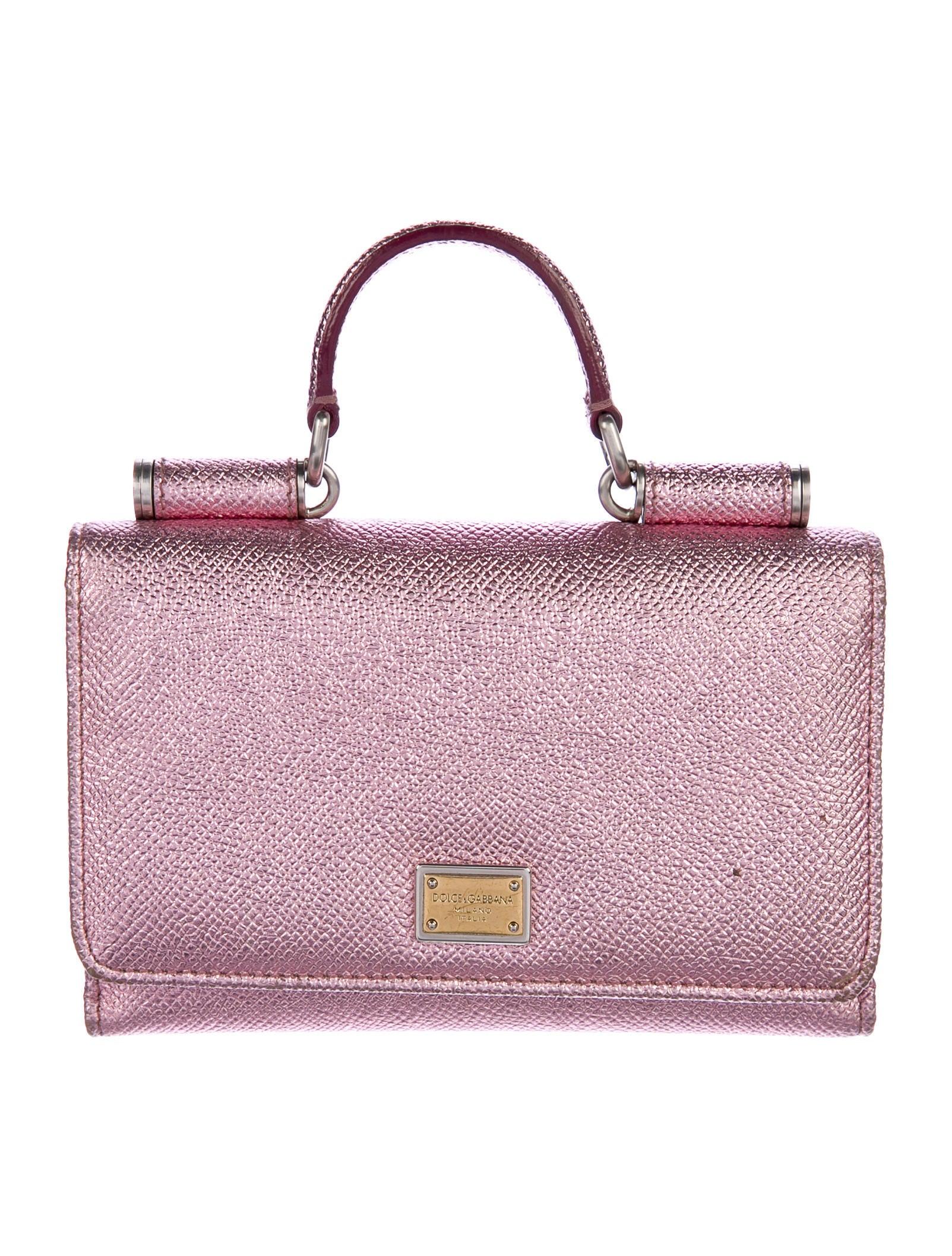 Dolce   Gabbana Sicily Von Bag - Accessories - DAG97841   The RealReal aab71ba114