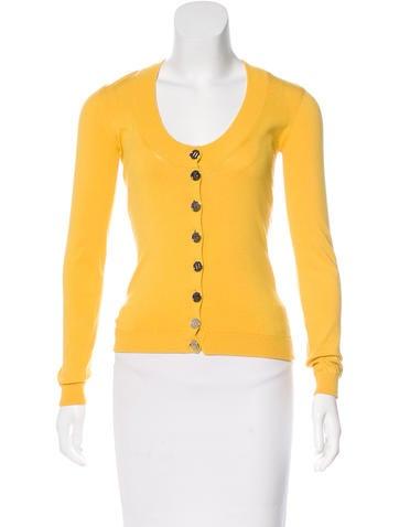 Dolce & Gabbana Long Sleeve Knit Cardigan None