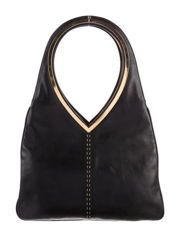 Dolce & Gabbana Leather Shoulder Tote None