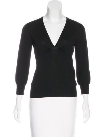Dolce & Gabbana Long Sleeve Wool Top None