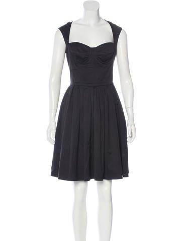 Dolce & Gabbana Bustier A-Line Dress None