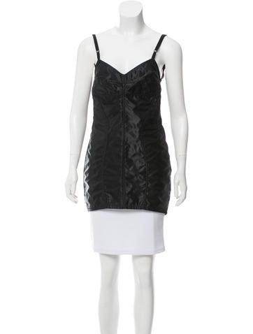 Dolce & Gabbana Sleeveless Bustier Top None