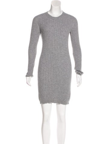 Dolce & Gabbana Cashmere Sweater Dress None