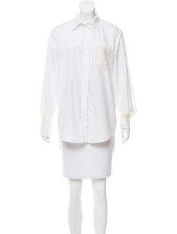 Dolce & Gabbana Collared Button-Up Top None
