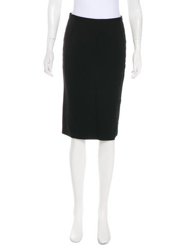 Dolce & Gabbana Wool Knee-Length Skirt None