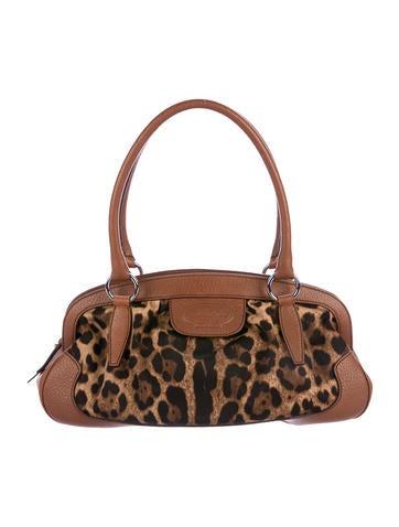 Dolce & Gabbana Leopard Shoulder Bag None