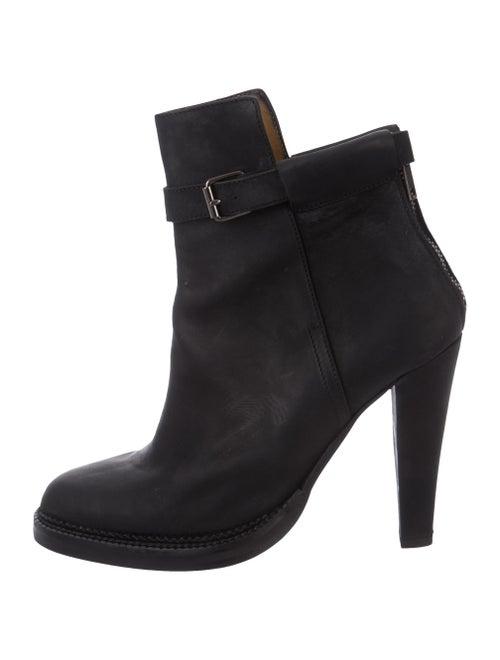 Damir Doma Nubuck Ankle Boots Black