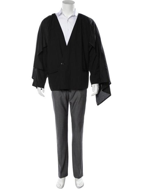 Damir Doma Woven Layered Blazer black - image 1