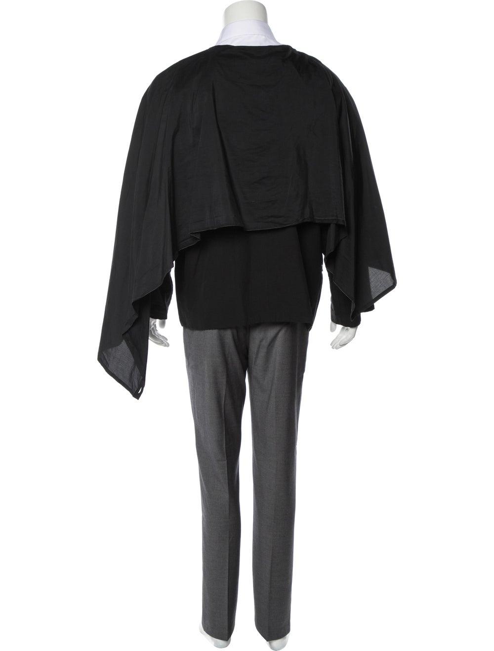 Damir Doma Woven Layered Blazer black - image 3