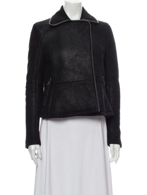 Damir Doma Lamb Leather Jacket Black