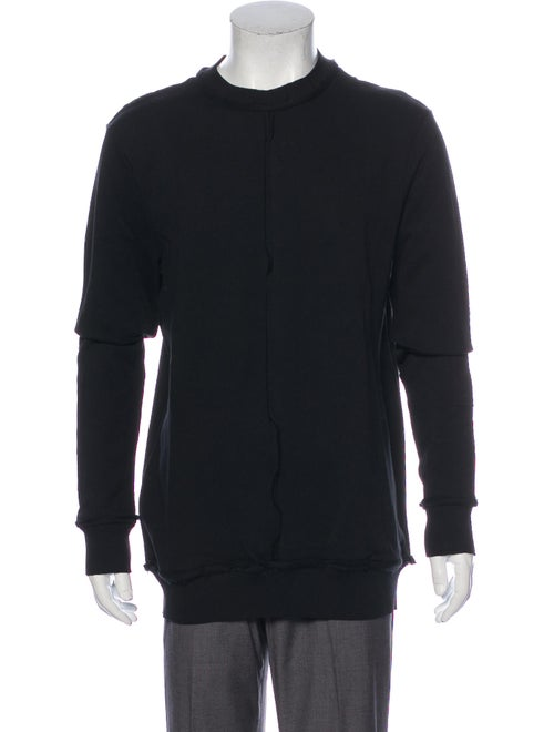 Damir Doma Crew Neck Long Sleeve Sweatshirt Black
