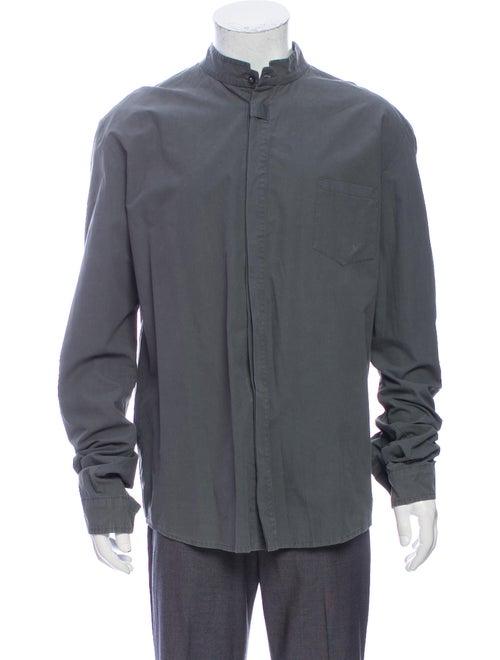Damir Doma Long Sleeve Shirt Grey