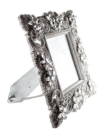 B.B. Simon Swarovski Crystal Picture Frame