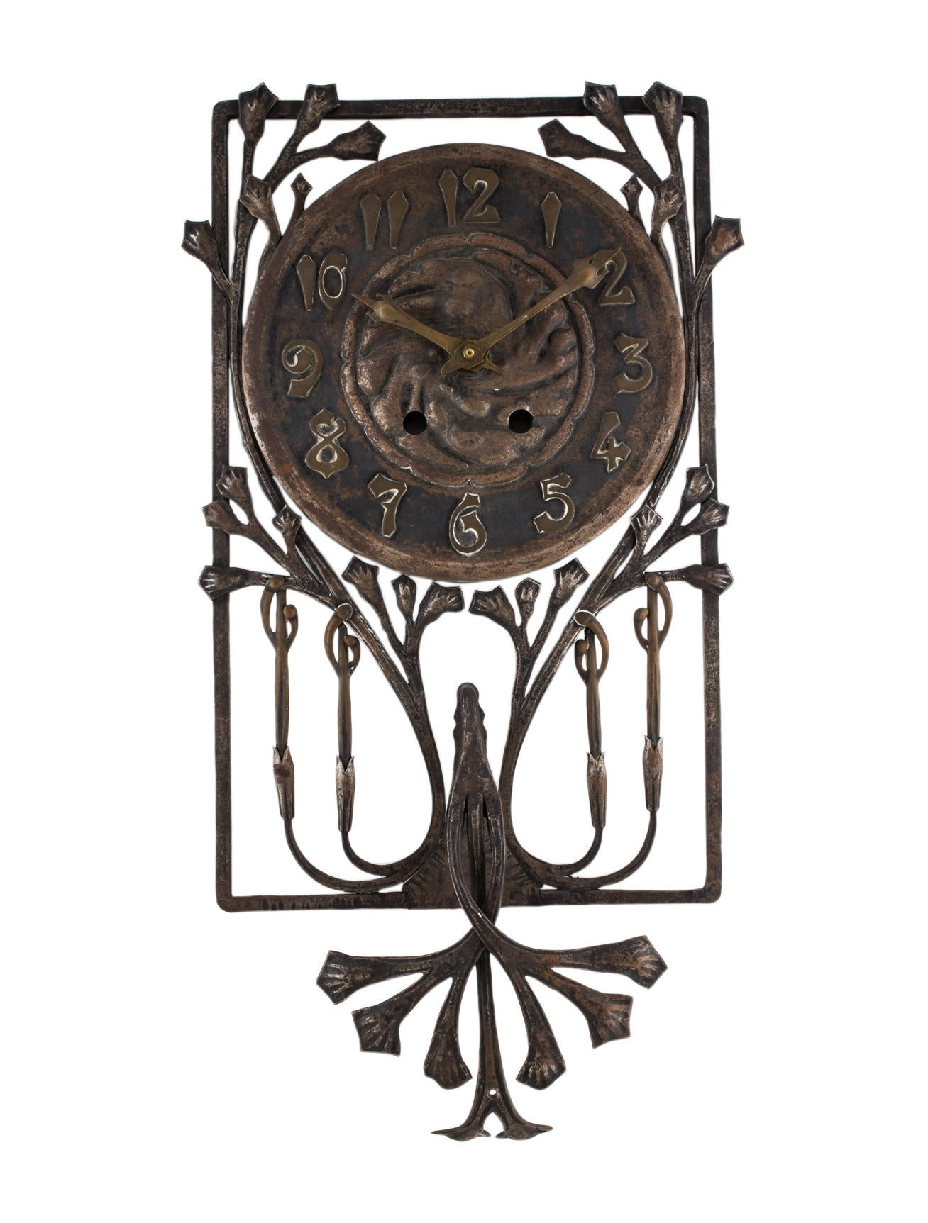 Louis majorelle art nouveau clock decor and accessories for Art nouveau decoration