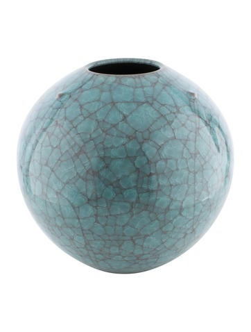 Decor Teal Japanese Ceramic Vase Decor And Accessories