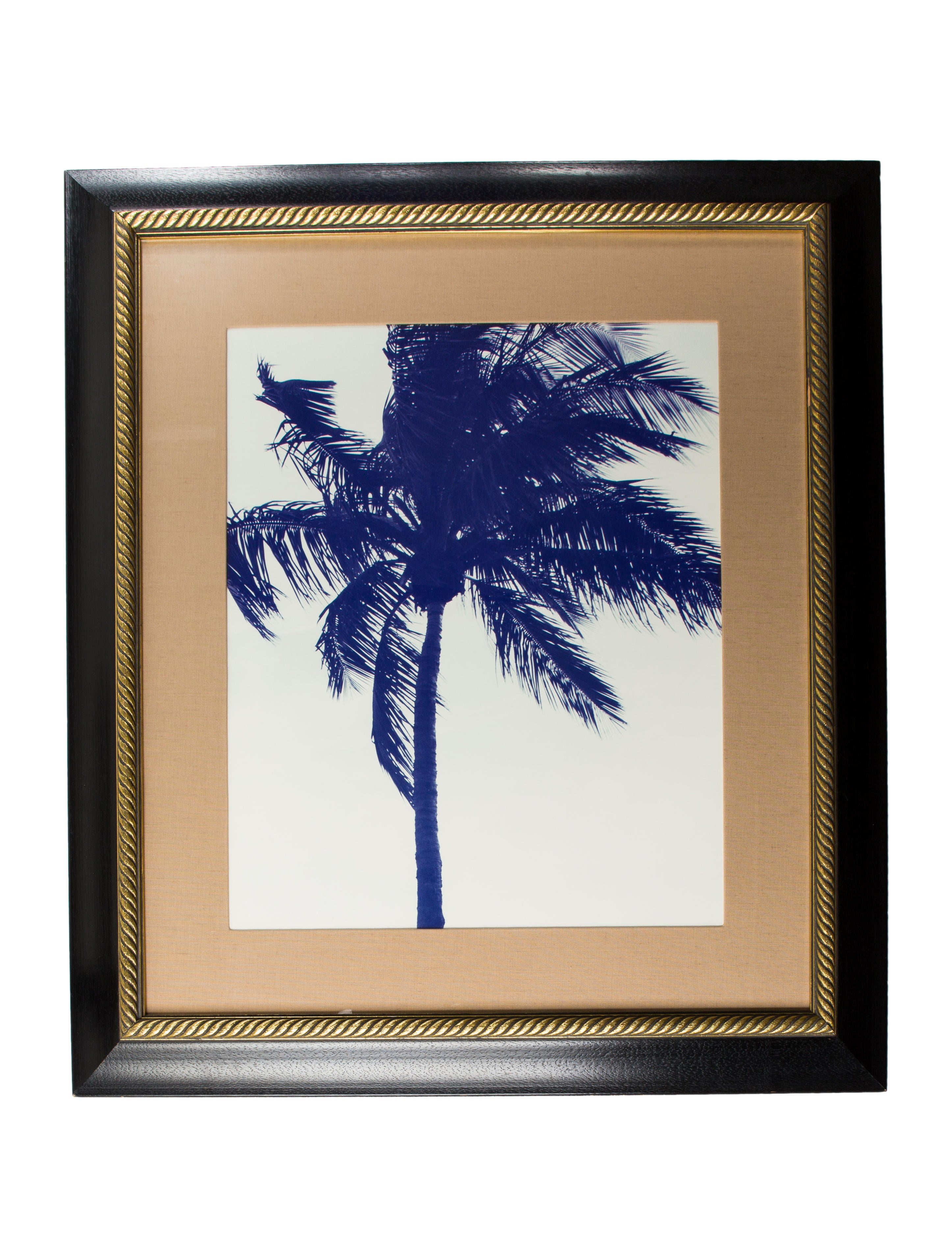 Framed Palm Tree Print
