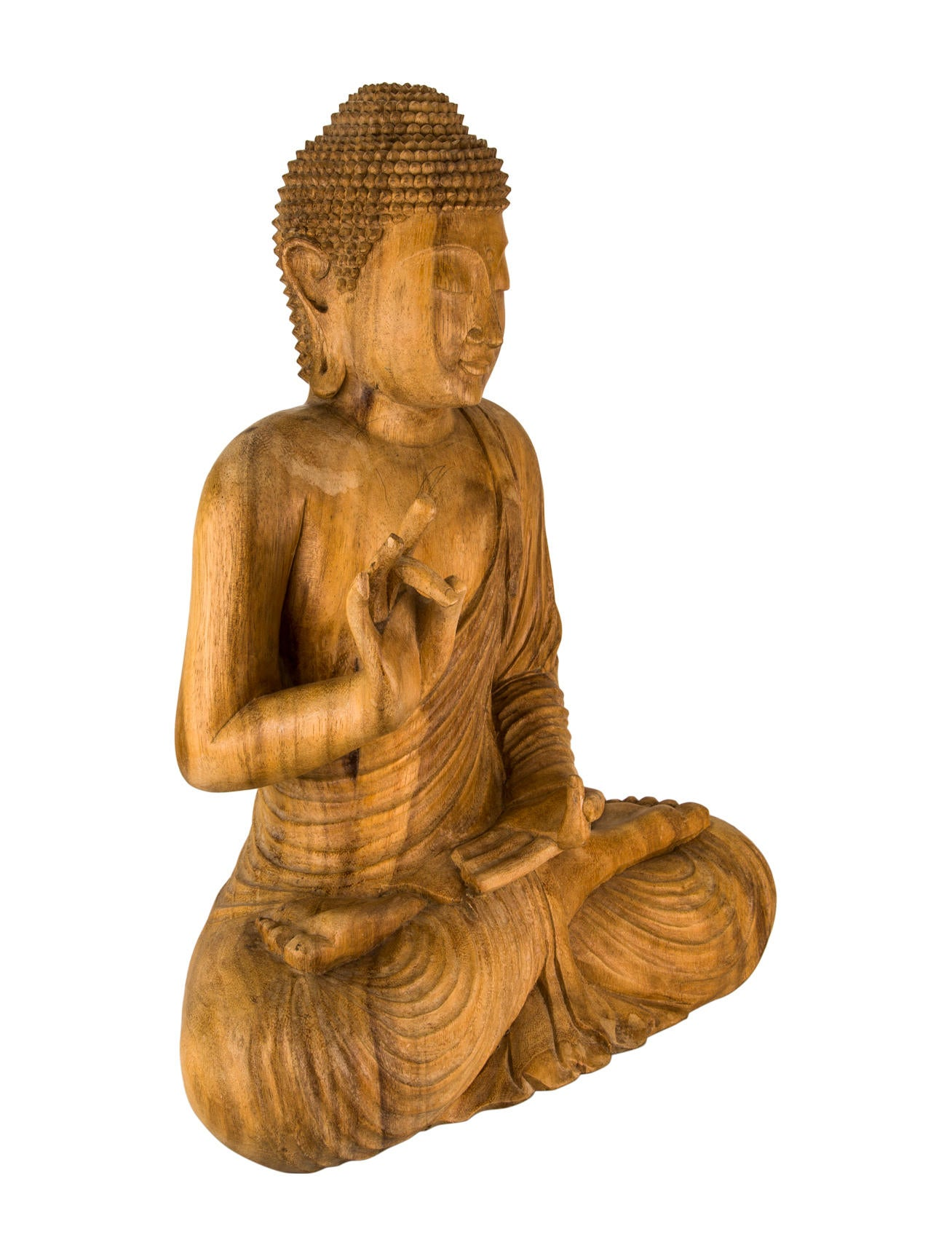 Carved Buddha Sculpture Decor And Accessories