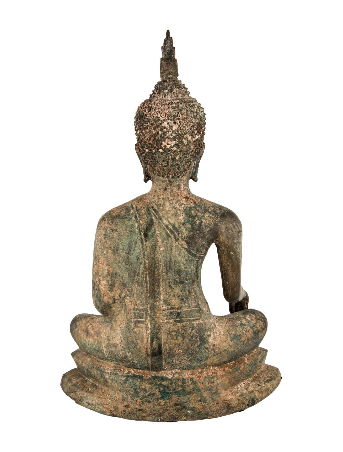 Bronze sitting buddha decor and accessories decor21209 for Buddha decorations for the home