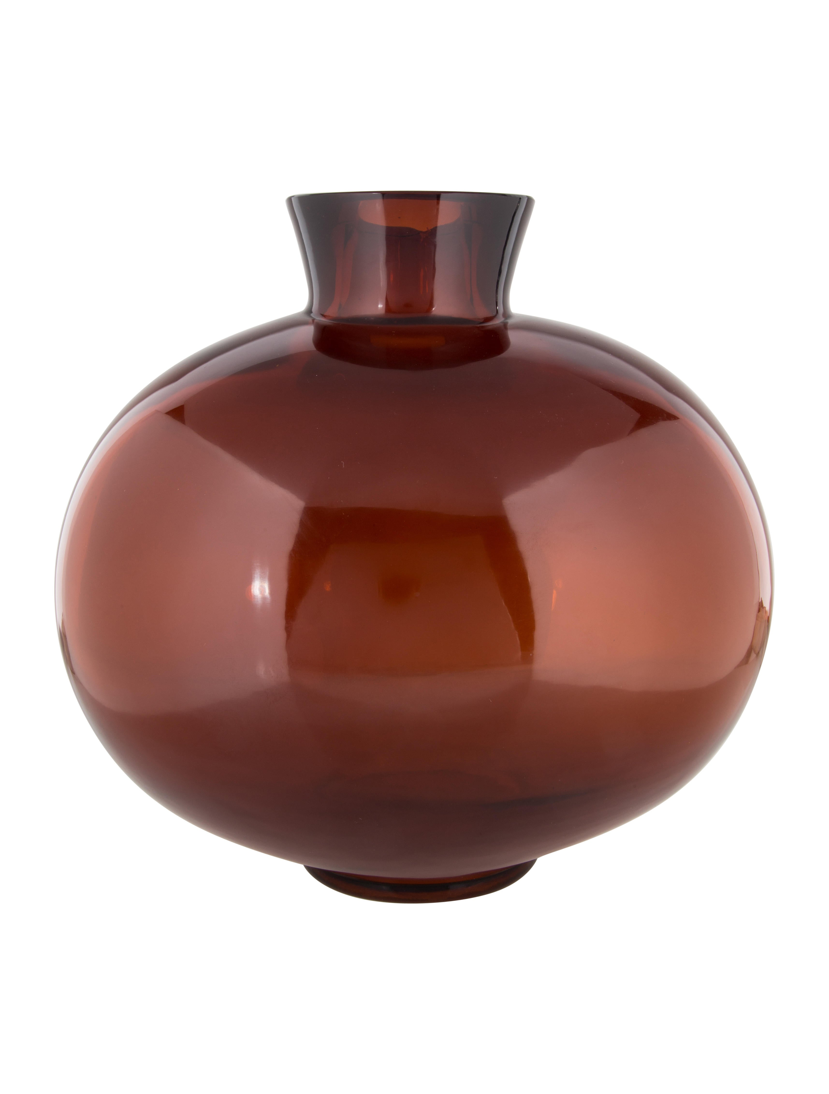 Amber glass cocoon vase decor and accessories decor21994 the amber glass cocoon vase floridaeventfo Image collections