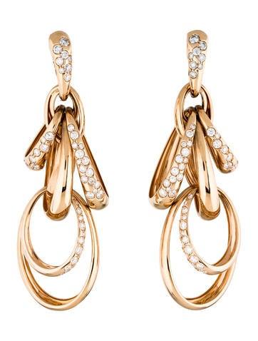 De Grisogono Catene Diamond Drop Earrings