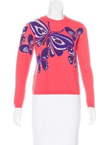 Delpozo Wool & Cashmere-Blend Sweater None