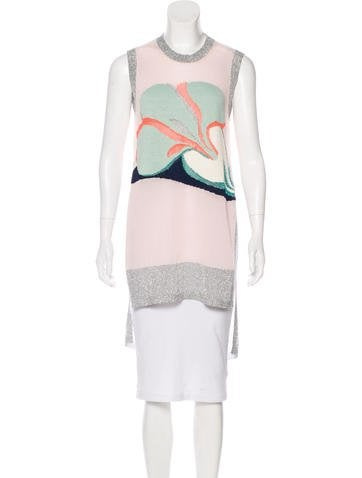 Delpozo Sleeveless Knit Tunic None