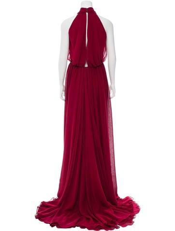 Light Chiffon Gown