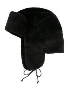 676b720ccc38a Dennis Basso. Sheared Mink Trapper Hat