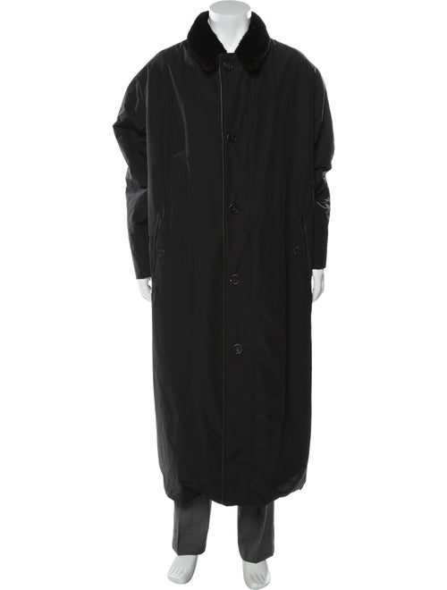 Dennis Basso Overcoat Black