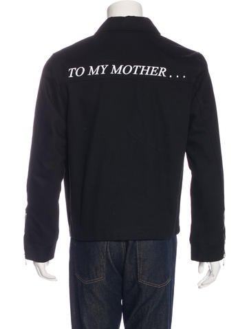 Enfants Riches Du00e9primu00e9s Embroidered Work Jacket - Clothing - DEP20016 | The RealReal