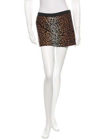 Derek Lam Cheetah Print Shorts