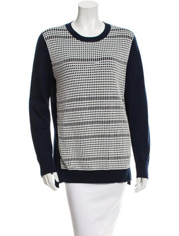 Derek Lam Long Sleeve Sweater None