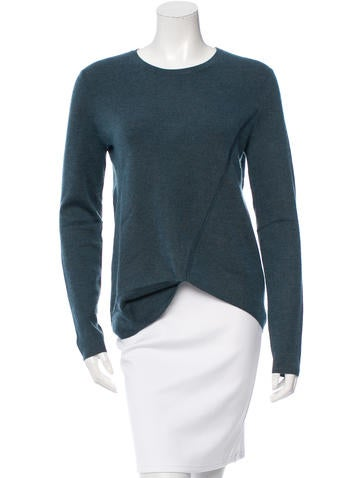 Derek Lam Cashmere & Silk-Blend Asymmetrical Top w/ Tags None