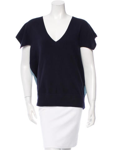 Derek Lam Cashmere Cap Sleeve Top w/ Tags None