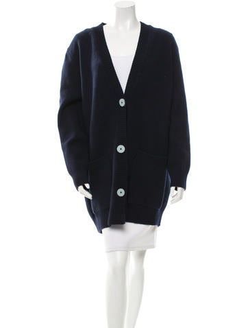 Derek Lam Wool Button-Up Sweater w/ Tags None