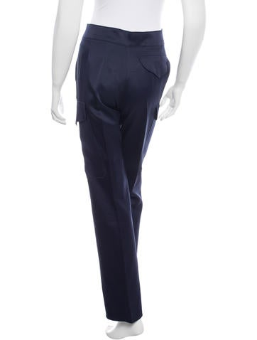 Wonderful  Women39s Premium Relaxed Fit Straight Leg Cotton Cargo Pant  FP337BK