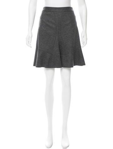 Derek Lam Wool Flared Skirt w/ Tags