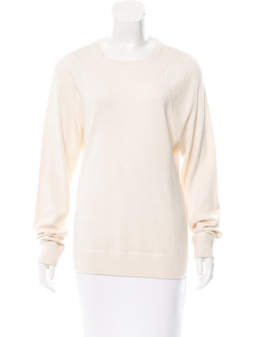 Derek Lam Cashmere Rib Knit Sweater None
