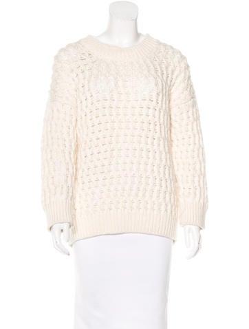 Derek Lam Wool & Alpaca-Blend Sweater None