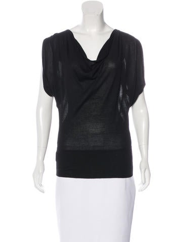Derek Lam Cashmere Knit Top None
