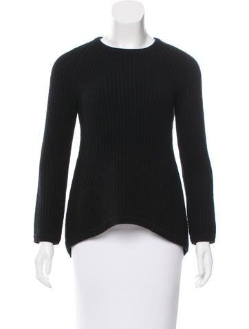 Derek Lam Rib Knit Cashmere Sweater