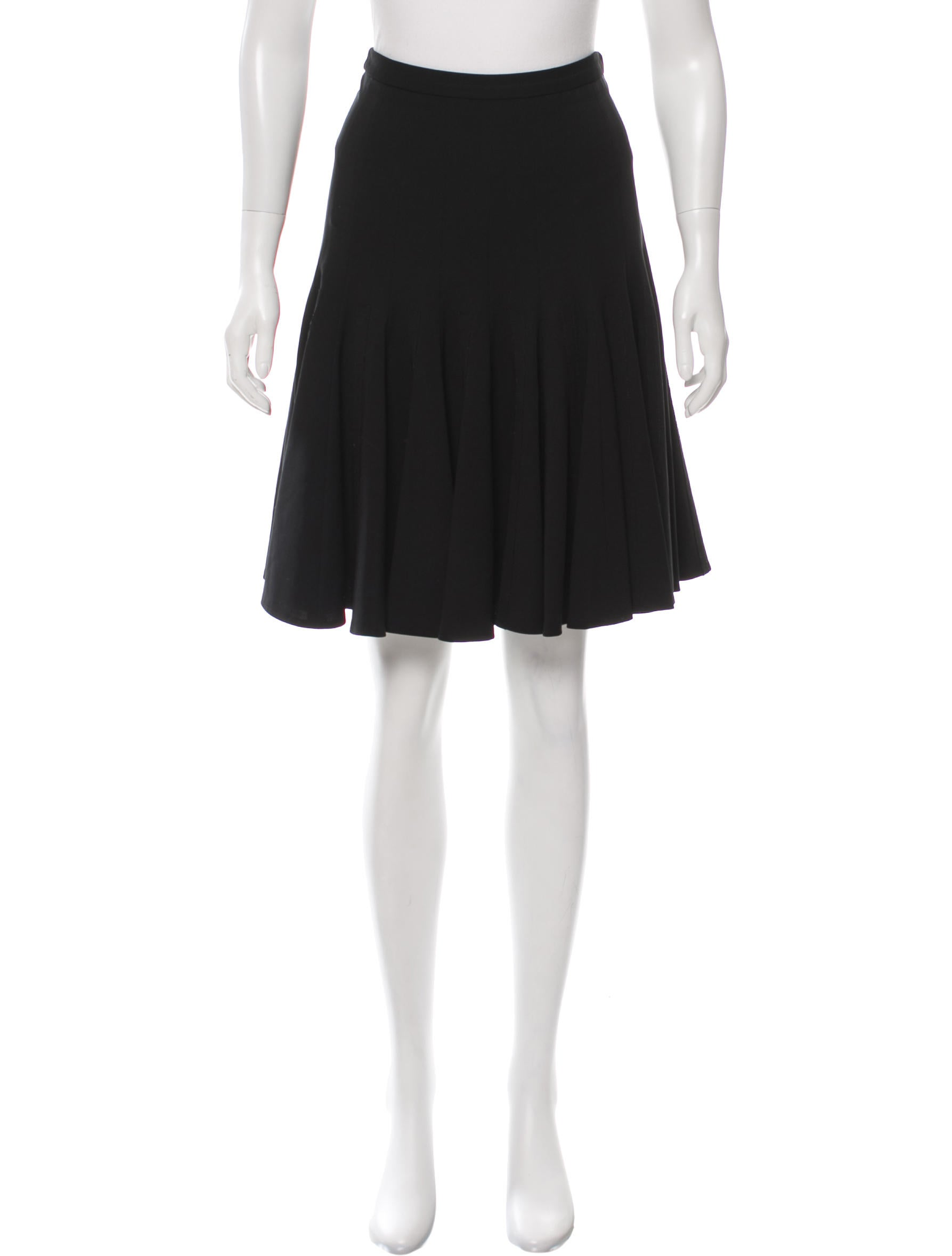 derek lam flared knee length skirt clothing der28162