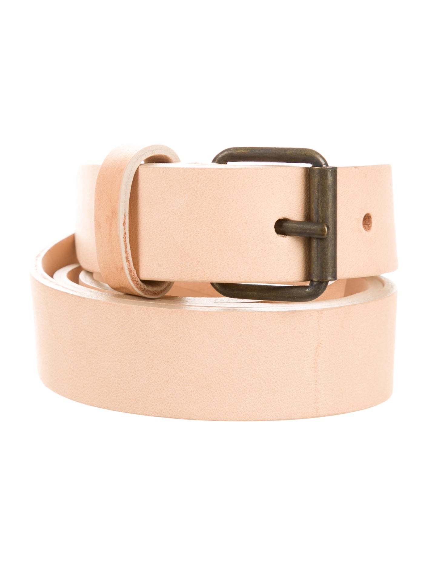derek lam beige leather belt accessories der28278