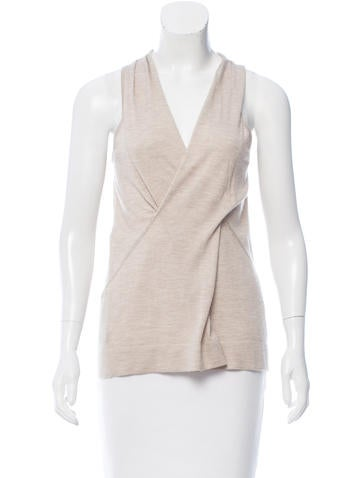 Derek Lam Sleeveless Cashmere Top w/ Tags None
