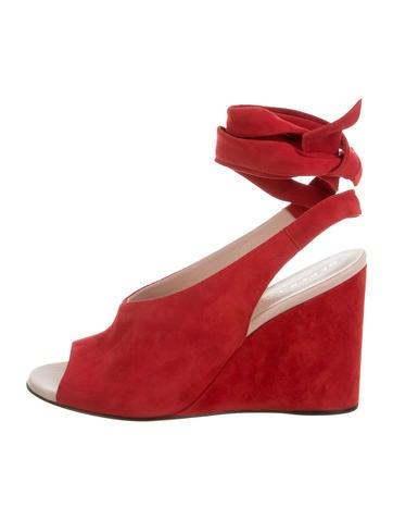 Derek Lam Suede Wedge Sandals w/ Tags None