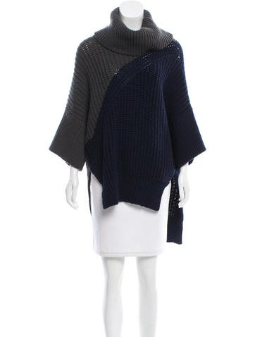 Derek Lam Wool Colorblock Top w/ Tags None